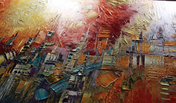 Streets of Fire - abstract View 3