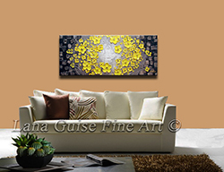 Golden Daffodils - floral-art View 2