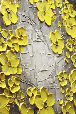 Golden Daffodils - floral-art View 3