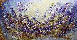 Lavender Fields - floral-art View 1