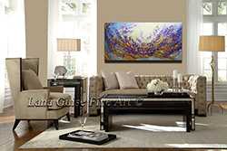 Lavender Fields - floral-art View 2