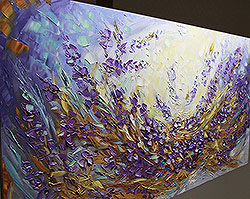 Lavender Fields - floral-art View 4
