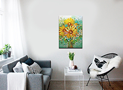 Sunflowers - floral-art View 2