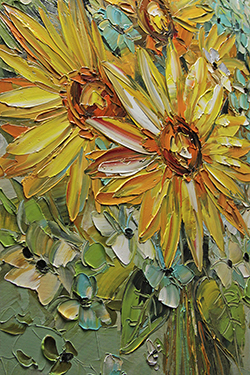Sunflowers - floral-art View 4