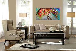 A New Beginning - Sold but Recreatable - tree-art View 2