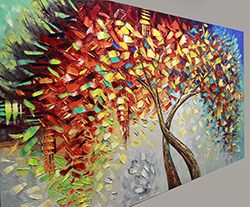 A New Beginning - Sold but Recreatable - tree-art View 3