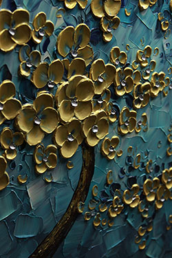 Heart of Gold - tree-art View 3