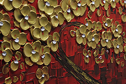 Red in Gold - tree-art View 4